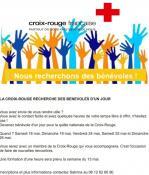 Quête nationale de la Croix Rouge unité de Montceau et les environs