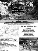 Trail et randonnée du Tunnel (Montchanin)