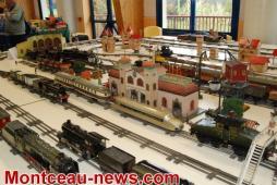 Exposition réseaux trains et miniatures à Montchanin