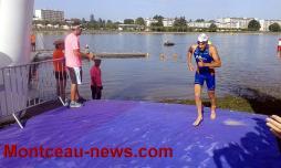 Plan d'eau du Plessis : championnat de France Aquathlon (Châpitre 1)