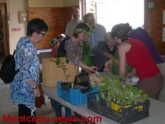 4e troc plants à Saint-Vallier