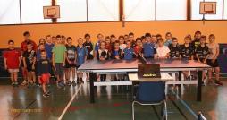 Compétitions départementales jeunes au COSEC Jean Moulin (Tennis de table)