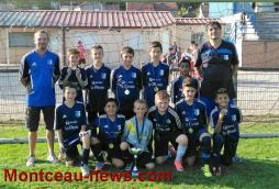 Tournoi U13 US Blanzy (Foot Jeunes): Montchanin JSMO remporte le trophée face à la JOC
