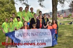 Championnats UNSS de Triathlon à Montceau