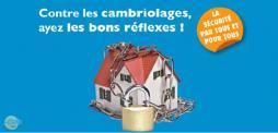 « Contre les cambriolages, ayez les bons réflexes » (Saône-et-Loire)