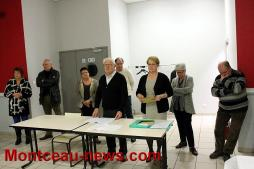 Animation commerciale du comité des fêtes à Saint-Vallier