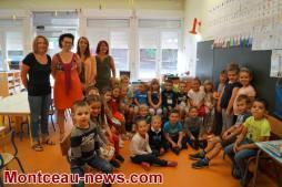 La rentrée scolaire à Saint-Vallier