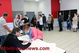 Election présidentielle, taux de participation à midi à Saint-Vallier