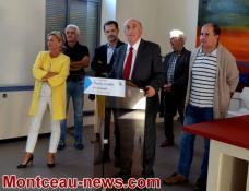 Saint-Vallier : pot de rentrée des enseignants