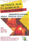 Retraites aux flambeaux et fête foraine à Saint-Vallier (Sortir)