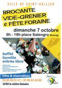 Brocante, vide-grenier et fête foraine à Saint-Vallier (Sortir)