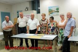 Animation commerciale avec le comité des fêtes à Saint-Vallier
