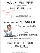 CCAS de Vaux-en-Pré (Sortir)