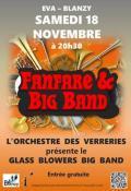 Orchestre des Verreries, le samedi 18 novembre 2018 à 20h30 à l'EVA (Blanzy)