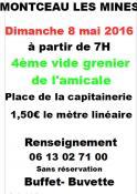 Vide-grenier à Montceau-les-Mines (Sortir)