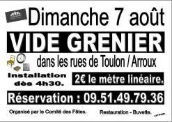 RAPPEL : Toulon sur Arroux (Sortir)