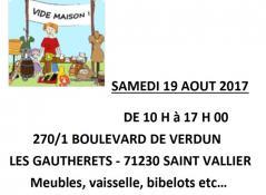 Vide maison aux Gautherets (Saint-Vallier)