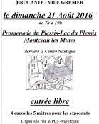 RAPPEL : Brocante – Vide grenier du PCF de Montceau (Sortir)