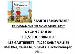 Rappel - Vide-maison aux Gautherets
