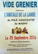 Brocante de l'Amicale de La Lande (Montceau-les-Mines)