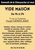 Vide-maison à Génelard