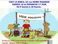 Vide-maison à Ciry-le-Noble
