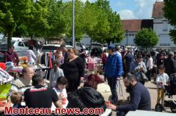 Saint-Vallier :  Vide-grenier de «Saint-Vallier en Fête»