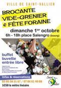 Brocante, vide-grenier et fête foraine (Saint-Vallier)