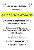 CS Marronniers ( Montceau)