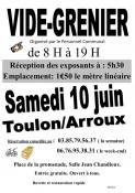 Vide grenier à Toulon-sur-Arroux