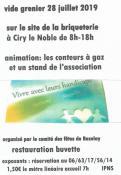 Ciry-le-Noble : Vide grenier sur le site de La Briqueterie