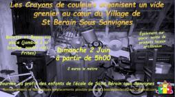 """Association """"Les crayons de couleur"""" de Saint Bérain-sous-Sanvignes (Sortir)"""