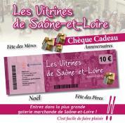 Pour Noël, offrez des chèques cadeaux «Les Vitrines de Saône-et-Loire»