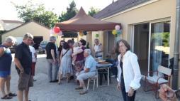 Fête des voisins Rue des Rompois à Montceau