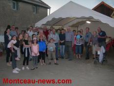La fête des voisins à Pouilloux