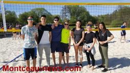 Finale inter-académique volley-ball de plage