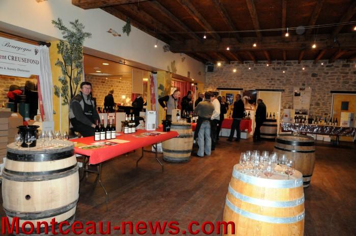 Troisi me salon des vins du caveau bourguignon montceau for Salon du vin versailles