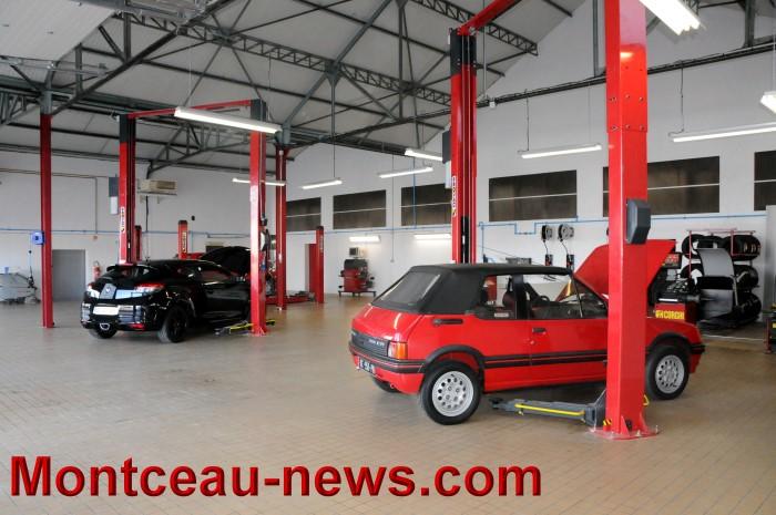 Nouveau centre auto montcellien rue de gray montceau for Garage auto bully les mines