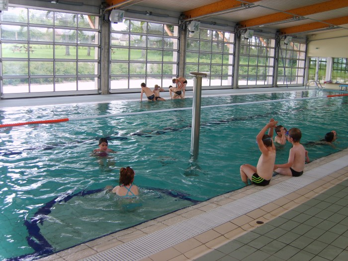 R ouverture de la piscine la guiche montceau news l for Piscine montceau les mines