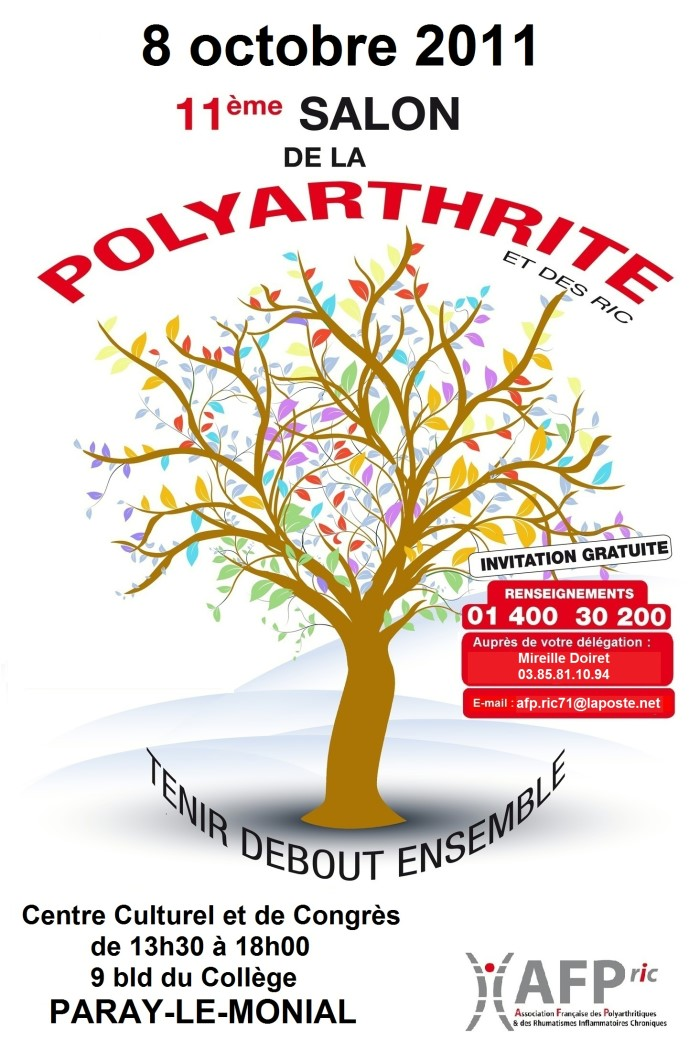 11 me salon de la polyarthrite paray le monial for Salon polyarthrite