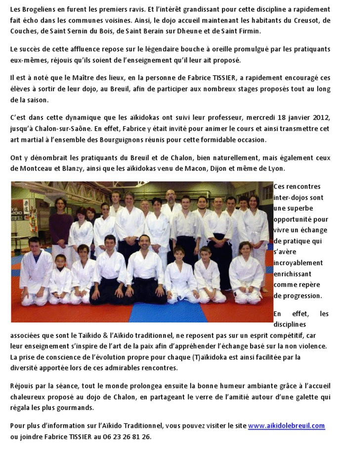 75982fad83c79 L'Aïkido traditionnel en plein mouvement « Montceau News | L ...