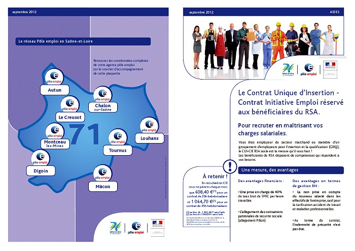 Contrat Unique D Insertion Contrat Initiative Emploi Reserve Aux