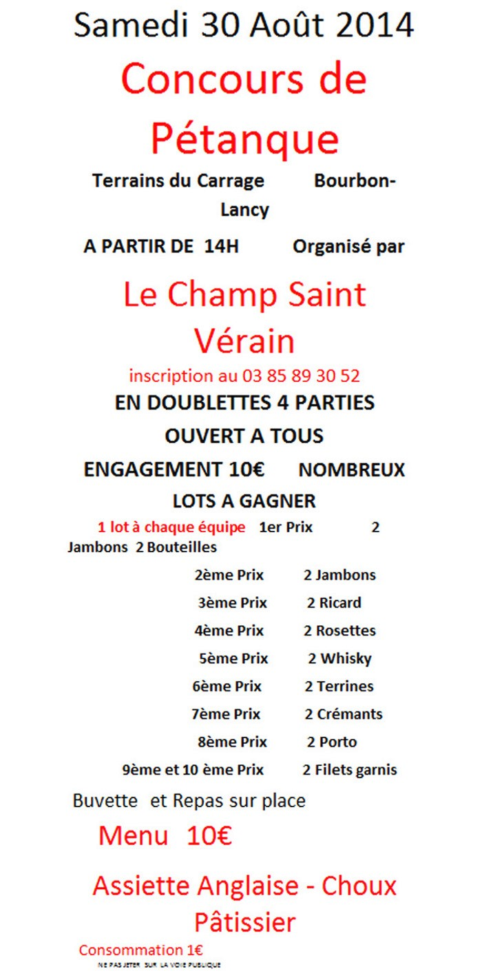 concours 20 08 14