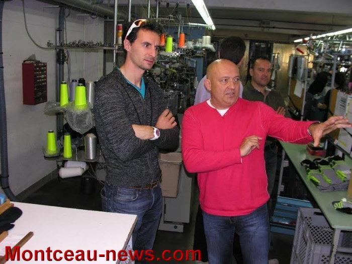 218589 Un Double Champion Du Monde Sebastien Lacroix En Visite A Montc...