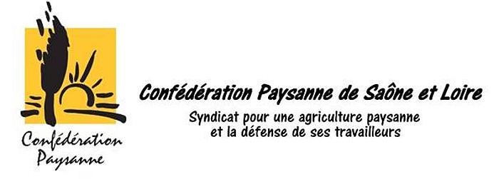 LOGO CONFEDERATION PAYSANNE 71 02 04 15