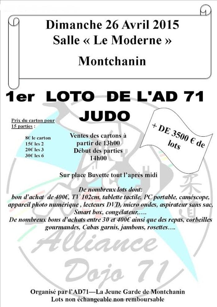 loto judo 0804152