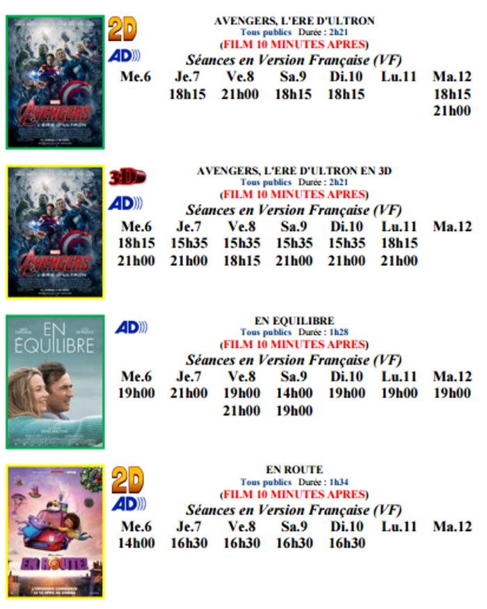 cinema plessis 050515