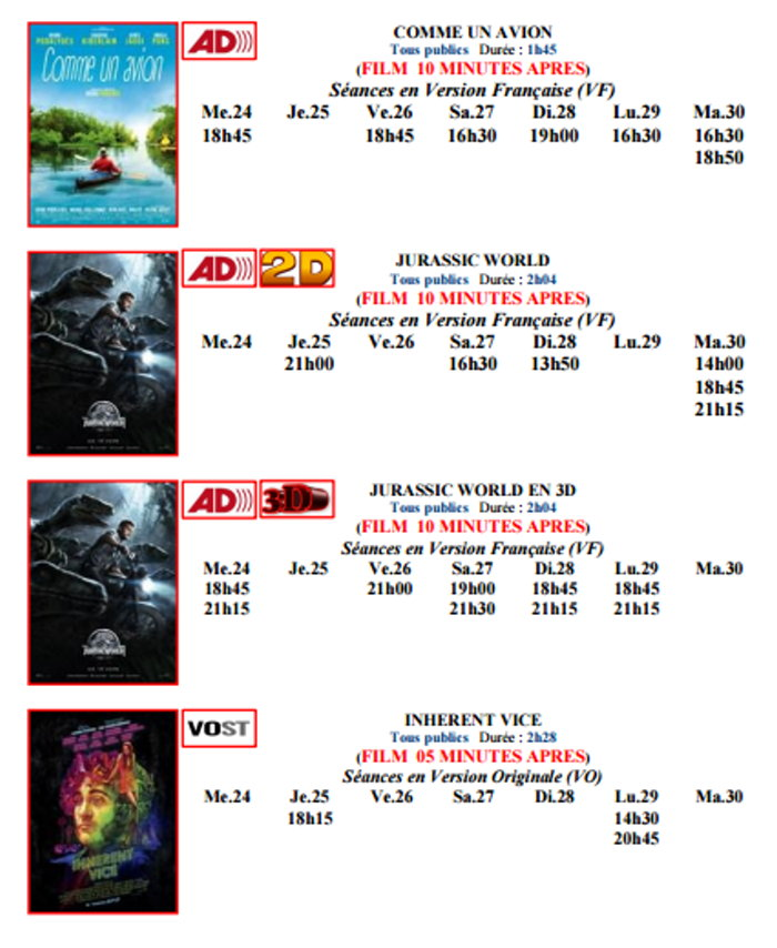 cinema plessis 2306155