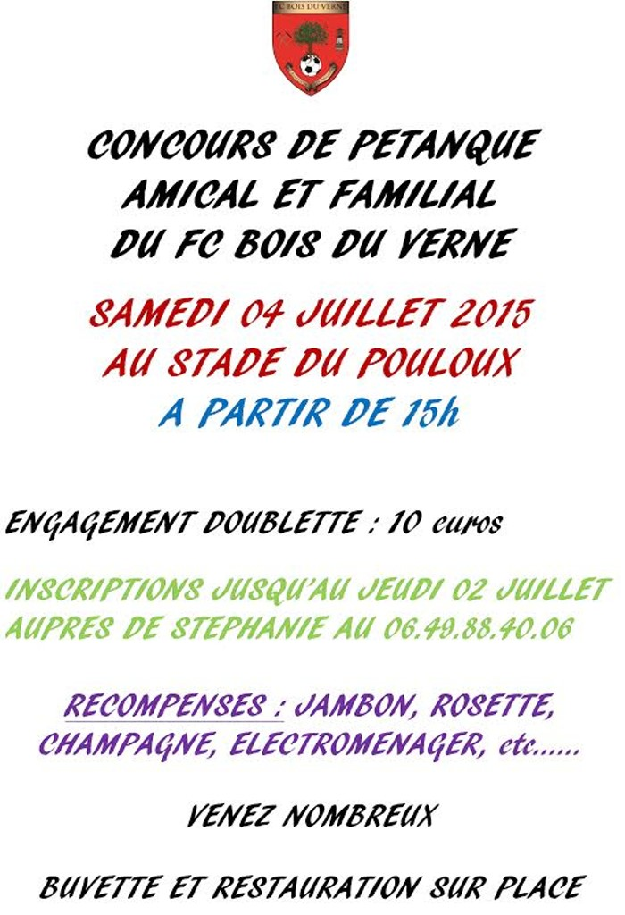 petanque fc bdv 2506152