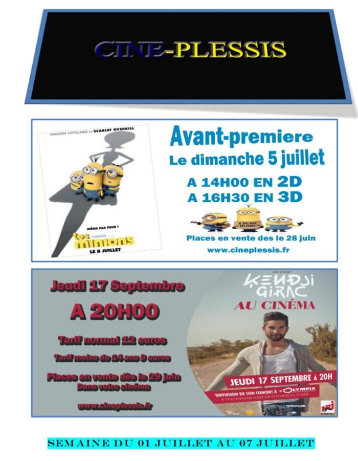 cinema plessis 0107152